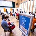 VIDEO JA FOTOD | Mustamäel alustas vaktsineerimiskeskus. Popov: täna töötame suhteliselt mõõduka tempoga