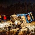 Õnnetus juhtus Harju-Risti – Riguldi – Võntküla tee 21. kilomeetril, kus liinibuss sõitis kurvis paremale teelt välja kraavi ning paiskus külili.