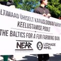 DELFI VIDEO: Tammsaare pargis avaldati täna meelt karusloomafarmide keelustamise poolt