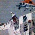 Lõuna-Korea külili vajunud parvlaeva kapten põgenes uppuvalt aluselt esimeste seas