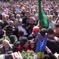 VIDEO: Harkivis läks võidupäeva tähistamisel lööminguks noorte Ukraina patriootide ja Vene-meelsete vahel