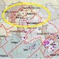 Желтым кружком обведены закрытые старые низкие шахты, где наблюдаются проблемы (из исследования TTÜ 2018 г.).