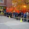 DELFI FOTOD: Esimesed valijad ootasid New Yorgis suurtes sabades