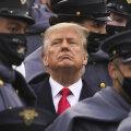 USA president Donald Trump möödunud kuu algul West Pointi sõjaväeakadeemias.