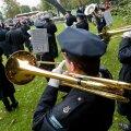 Politseiorkester parvlaev Estonia mälestusüritusel.