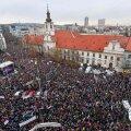 VIDEO ja FOTOD | Slovakkias nõudsid tuhanded inimesed mõrva järel peaministri tagasiastumist