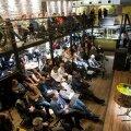 FOTOD: Von Krahli baaris arutati, kas Occupy Wall Street võib jõuda konsensuslike otsusteni