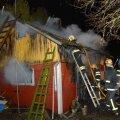 Sauna põleng Viljandimaal