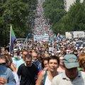 Habarovski meeleavaldustel osalejate arvud erinevad olenevalt kanalist suuresti.