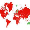 KAART | Vaata, millistest riikidest saabudes ei ole vaja enam eneseisolatsiooni jääda!
