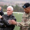 USA asepresident Pence rõhutas Põhja-Korea piiril strateegilise kannatlikkuse ajastu lõppu