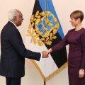 Londonis resideeriv Guyana Kooperatiivse Vabariigi suursaadik Frederick Hamley Case andis Eesti presidendile Kersti Kaljulaidile 24. jaanuaril üle oma volikirja