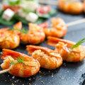 Peakokk õpetab: kuidas grillida krevette?