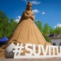 Tõrvas avati Eesti esimene liivaskulptuuride park