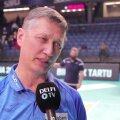 DELFI VIDEO | Tartlaste peatreener Andrei Ojamets: sellised mängud jäävad elu lõpuni meelde