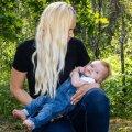 EMAGA KODUS: Signe ei süüdista arste, kuid tal jäi kripeldama, miks ei avastatud näiteks beebi südameriket, mis on iseloomulik CHARGE'i sündroomile, loote ultrahelis.