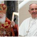 Esimest korda ajaloos kohtuvad Rooma paavst ja Venemaa patriarh