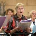 Astrid Gustavson on vanim juubelilaulupeo koorilaulja aastal 2019.