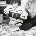 Viimane suur rahareform: Igale Eesti elanikule vahetati 1992 juunis 150 krooni sularaha. Peeter langovits (repro raamatust Eesti rahareform 1992)