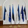ФОТО | В Белый зал Рийгикогу вернулись флаги ЕС