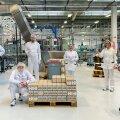 L'Oréal annetab Baltikumis haiglatele, apteekidele ja kauplustele suures koguses desinfitseerimisvahendeid
