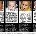 Väljaandes Newcastle Herald ilmusid aastal 2003 laste surmakuulutused.