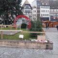 Strasbourgi jõuluturg täna.