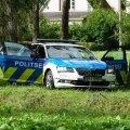 ГАЛЕРЕЯ | Латыши пытались скрыться от эстонской полиции. Возможно, водитель был пьян