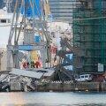 Genovas rammis laev kontrolltorni, hukkus kolm inimest