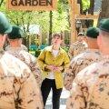ФОТО   Керсти Кальюлайд на встрече с военными в Афганистане: каждый ваш день здесь укрепляет безопасность Эстонии