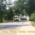 FOTOD   Lätis sõitis juht autoga jalakäijate sekka, väike tüdruk hukkus