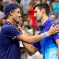 Holger Rune ja Novak Djokovic