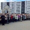 FOTOD: Patriarh Aleksius II mälestusmärgi avamisele tuli sadu inimesi
