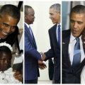 FOTOD JA VIDEOD: Obama emotsionaalne külaskäik juurte juurde Keeniasse ei möödunud erimeelsusteta