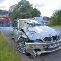 Viljandimaal sõitis BMW tagant otsa Škodale