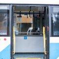 Avatud ustega trollibuss (pilt on illustratiivne).