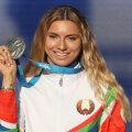 Кристина Тимановская выставила на аукцион свою медаль