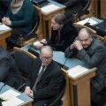 Keskerakondlased hääletasid Eesti-USA kaitseleppe rakendusseaduste poolt, Stalnuhhin ei hääletanud