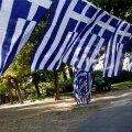 Kreeka lipud.