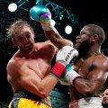 Logan Paul vs Floyd Mayweather.