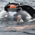 Vladimir Putin sukeldus Soome lahe põhja, et uurida Vene allveelaeva vrakki