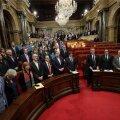 Kataloonia parlament pärast iseseisvuse väljakuulutamist.