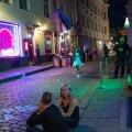 Melu nn Bermuda kolmnurgas Tallinna vanalinnas.