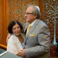 Adik Levin koos abikaasa Dinaga.