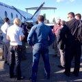 FOTO: Separatistide poolt kinni peetud ja vabastatud eestlasest OSCE vaatleja lahkus Ukrainast