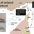 KAART | Briti tankeri Stena Impero marsruut näitab, et iraanlased kaaperdasid aluse Omaani vetes