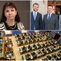 Jüri Ratas juhib tänasest vähemusvalitsust: riigikogulane Tiina Kangro lahkus Isamaa fraktsioonist