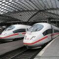 ICE kiirrongid Kölnis.