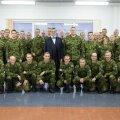 President Ilves kohtumisel kaitseväelastega