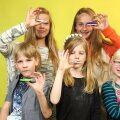 Lapsed näpuspinneritega